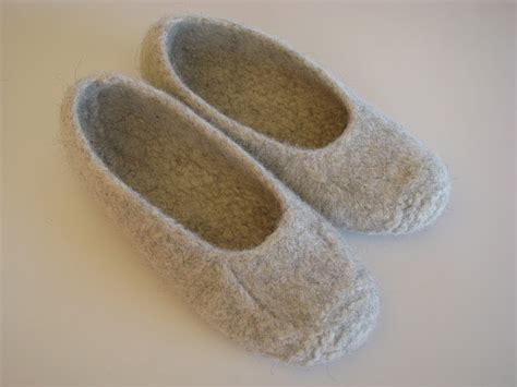 felted wool slipper patterns free shim farm duffers