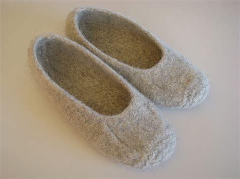 felted slipper pattern free shim farm duffers