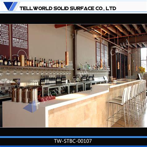 modern bar top best bar counter design home design ideas