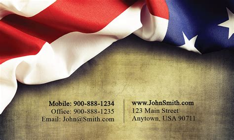 free us army business card templates yellow business card design 1801011