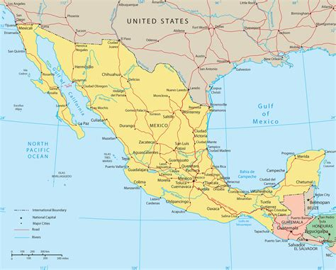 map of the mexico mexico map jpg