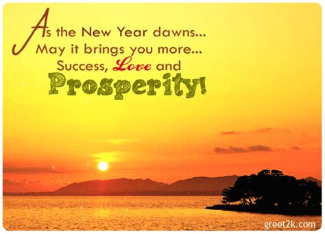 new year prosperity business quotes quotesgram