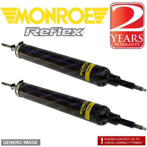 Shock Ride It 255 Rear Right Left Reflex Shock Absorber X2 Volvo V70