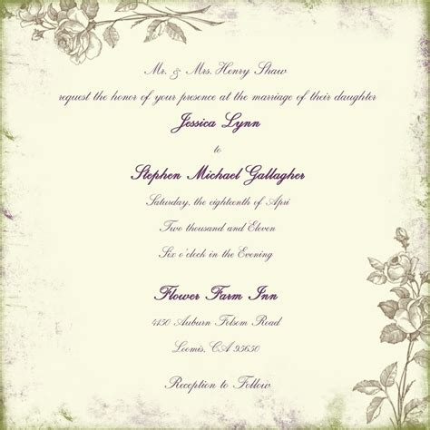 templates for wedding reception invitations wording for wedding invitations marriage invitation
