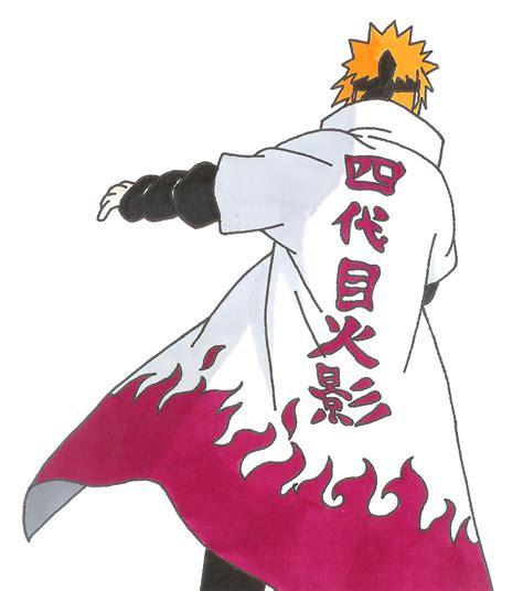 Jaket Anime Hokage Ke 4 minato namikaze 4th hokage by epicchaos450 on