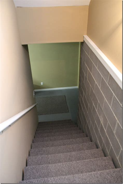Gray Paint by Painted Basement Steps With Board And Batten Unskinny Boppy