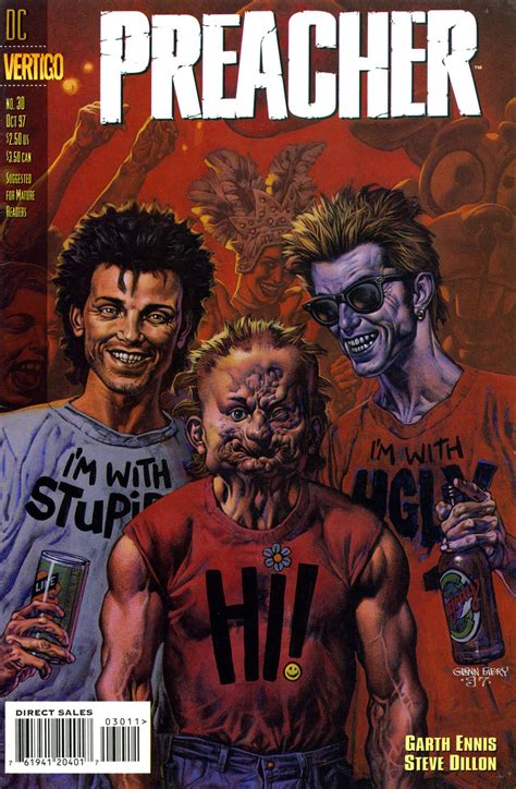 Preacher Comic Book Cover Photos 191 Los Mejores C 243 Mics Que Hab 233 Is Leido P 225 2 C 243 Mic Anime Foro Meristation