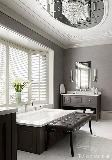 design ideas  neutral color master bathrooms