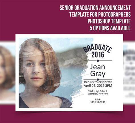 senior graduation announcement templates 86 best images about c o 2017 senior class sponsor on
