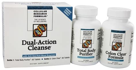 True Cellular Detox Ingredients by Buy Cellular Research Formula Dual Cleanse Kit At