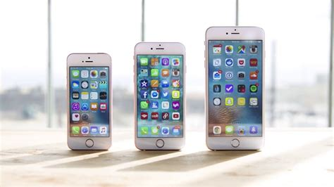iphone sibling rivalry showdown iphone se vs iphone 6s iphone 6s plus