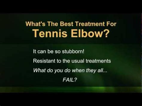best treatment for tennis tennis treatment what s the best treatment for