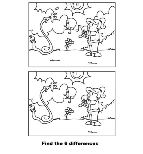 coloring pictures of spot the free coloring pages of spot the difference