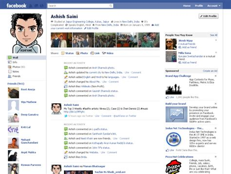 facebook themes change layouts facebook launches new profile layout