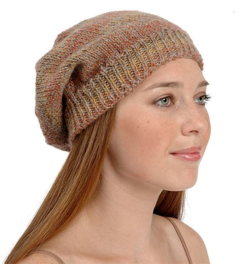 knitting patterns for slouchy hats free the cool ways to knit a hat cottageartcreations
