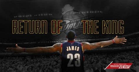 lebron i m coming home back to cleveland