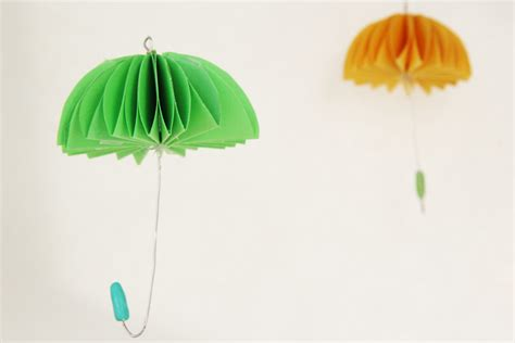 How To Make A Paper Umbrella - how to make paper umbrellas
