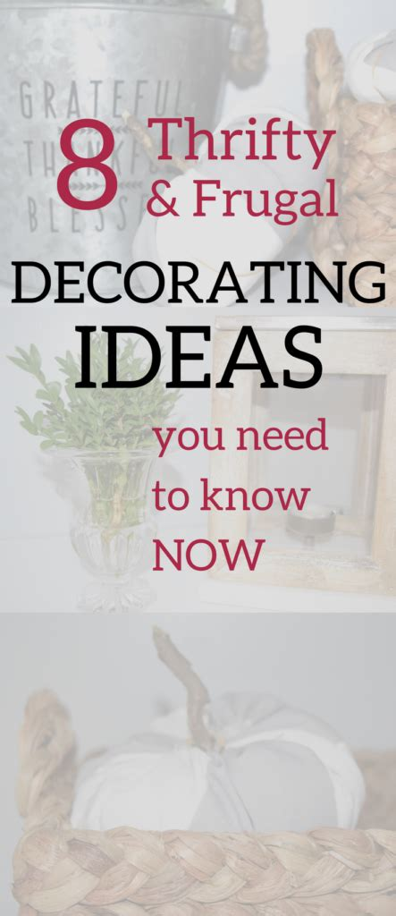 frugal home decorating ideas 8 thrifty frugal decorating ideas a brick home