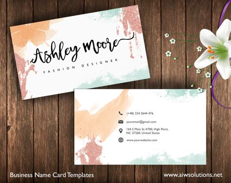 invitation design company names premade business card template name card template