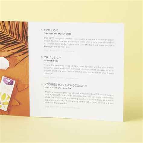 Roberta Roller Rabbit popsugar limited edition resort 2017 box review my