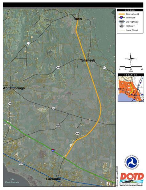 louisiana dotd map la dotd projects
