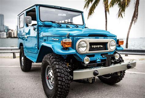 blue toyota fj cruiser 1978 land cruiser fj40