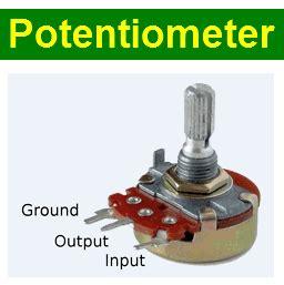 potentiometer pinout  datasheet datasheetgocom