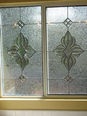 stained glass bathroom door stained glass craftsmen beveled sliding glass door