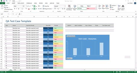Excel Test Template by Software Testing Template Ms Word Excel Instant