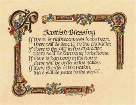 Wedding Blessing Scottish by 17 Best Images About Scottish Blessings On