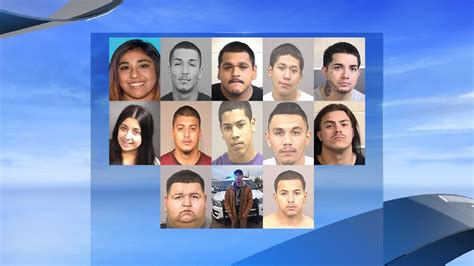 Fresno County Sheriff Warrant Search Investigation Nabs Dozens Of Members In Calwa Kmph