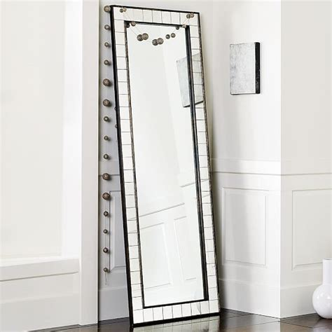 Floor Mirror West Elm by Antique Tiled Floor Mirror Modern Floor Mirrors By West Elm