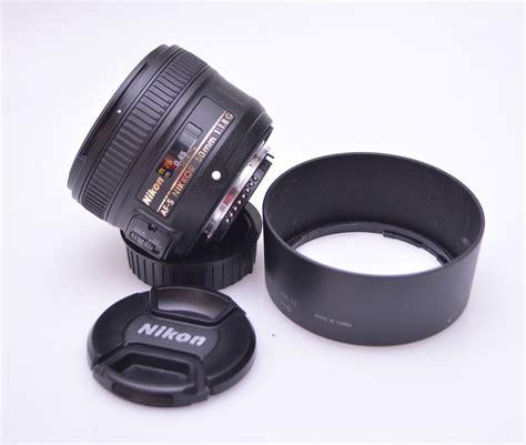 Lensa Nikon 50mm F 1 8 D jual lensa nikon 50mm f 1 8 afs bekas jual beli laptop bekas kamera bekas di malang service