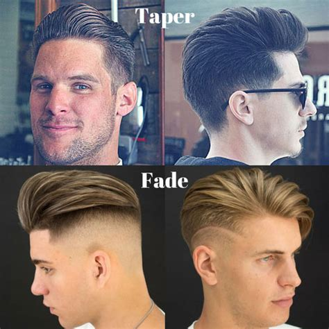 Difference Between A Taper Cut And A Undercut Hairstyle | taper vs fade the difference between fade and taper haircuts