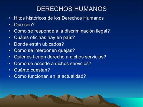 cuales son derechos humanos breve historia y conceptos sobre los derechos humanos