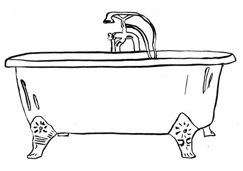 bathtub drawings clawfoot tub drawing image search results