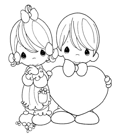 Free Coloring Pages Of Wedding For
