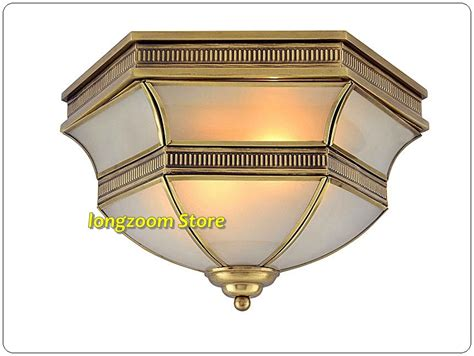 Water From Ceiling Light Fixture by W360h230 High Quality Brass Ceiling L Copper Flush