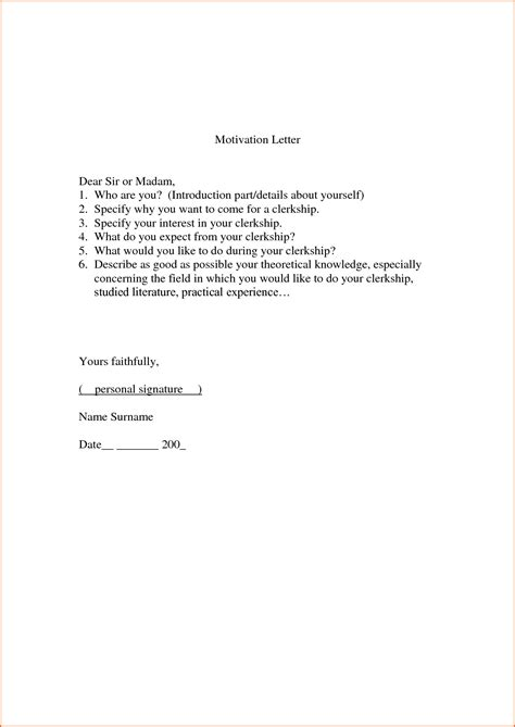 Motivation Letter Yourself 8 What Is Motivation Letter Budget Template Letter
