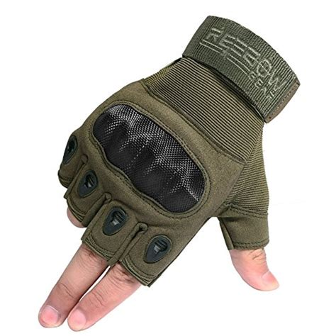 Glove Tactical Bikers Paintball Airsoft Impact Half gloves half finger tactical fingerless