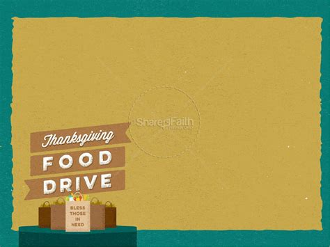 drive powerpoint templates thanksgiving food drive christian powerpoint fall