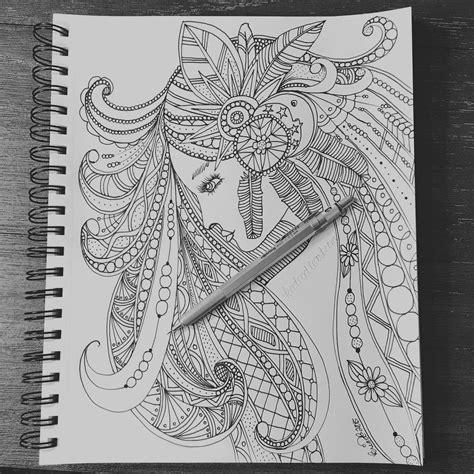 dream catcher doodle woman dreamcatcher hair doodles youtube