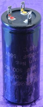 electrolytic capacitor mounting orientation polarized cl mount electrolytic capacitor 100uf 100uf 500vdc