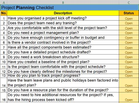 project task list template excel to do list template excel