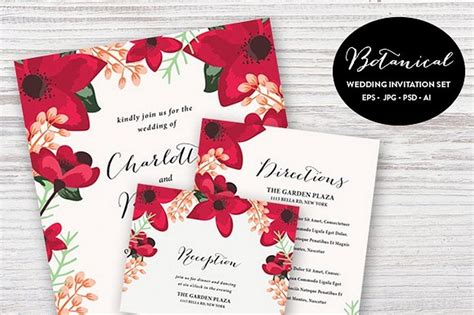 Invitation Cards Templates Free Psd by 90 Gorgeous Wedding Invitation Templates Design Shack
