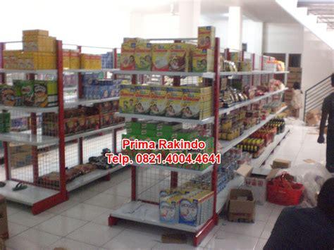 Rak Display Gondola pabrik rak supermarket hubungi 0821 4004 4641
