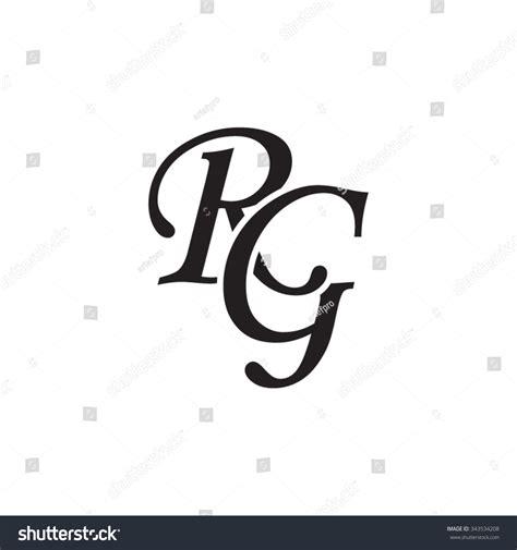rg designs rg initial monogram logo stock vector 343534208 shutterstock