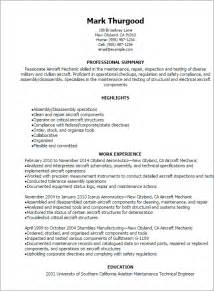 Aviation Resume Builder by Aircraft Maintenance Engineer Resume Template Bestsellerbookdb
