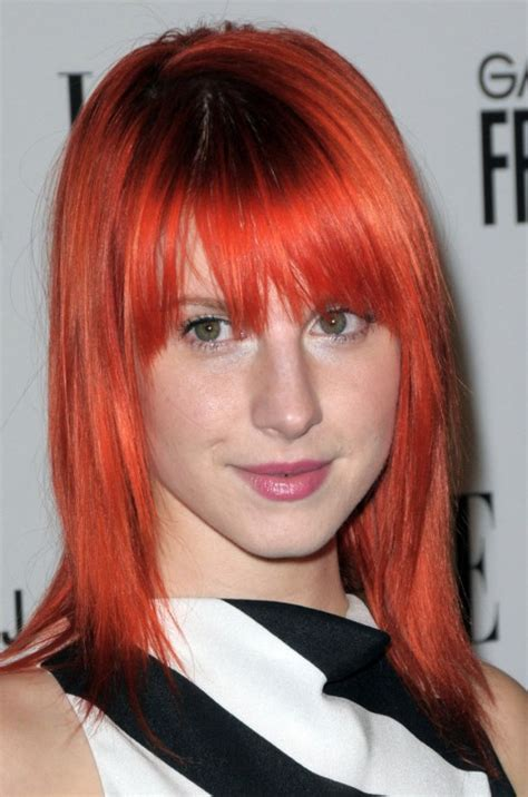 is hailey williams hair naturally red hayley williams red hair www imgkid com the image kid