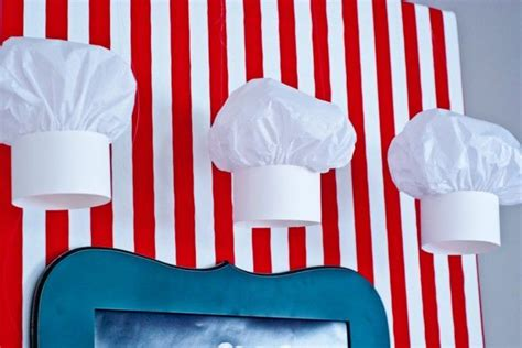 How To Make Chef Cap With Paper - diy paper chef hat tutorial for a s baking emmys